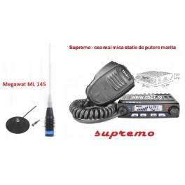 Pachet statie cb Avanti Supremo cu antena Megawat ML145