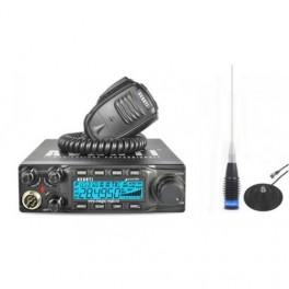 Statie CB Avanti Guarda ASQ pachet cu antena ML 145